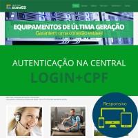 Tema  ECON 03 - Verde (Login+CPF)