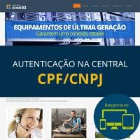 Tema  ECON 03 - Azul (CPF/CNPJ)