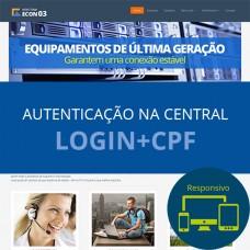 Tema  ECON 03 - Azul (Login+CPF)